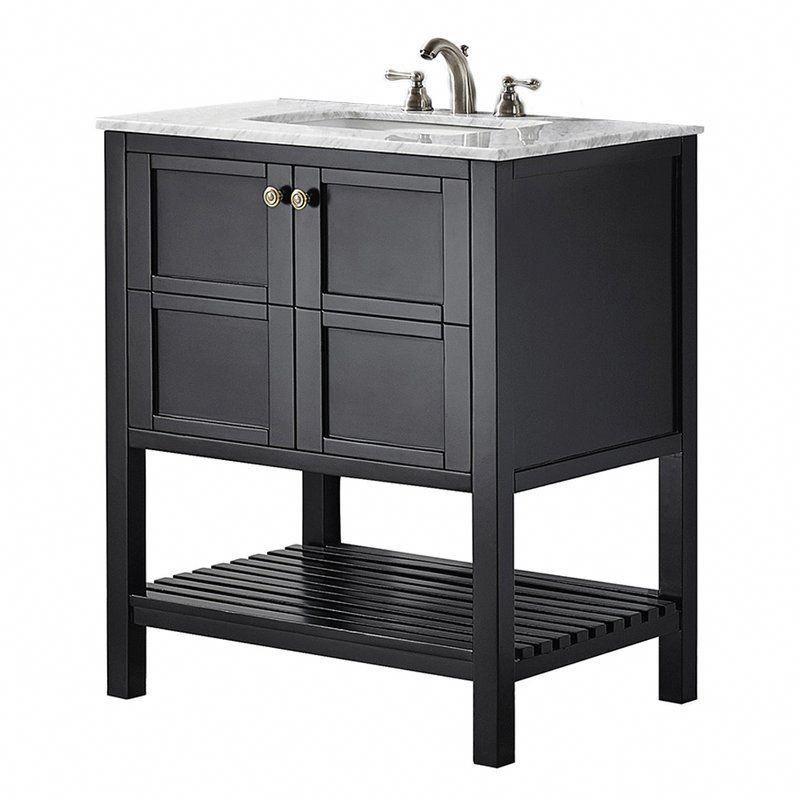 Zara 30 Single Bathroom Vanity Bathroomimprovement Black Vanity Bathroom Single Bathroom Vanity Bathroom Vanity