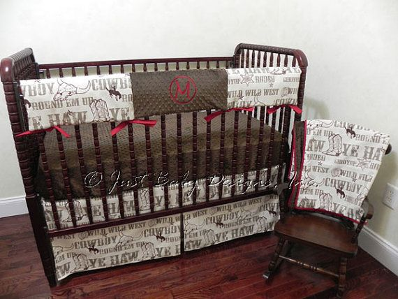 Pin On Baby Boy, Western Baby Bedding Crib Sets
