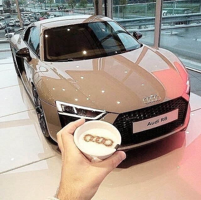 "Photo of audi obsession | cars on Instagram: ""Hope you are enjoying your day! –  Perfect coffee with perfect car!🔥 📷 @ots.photography •…"""