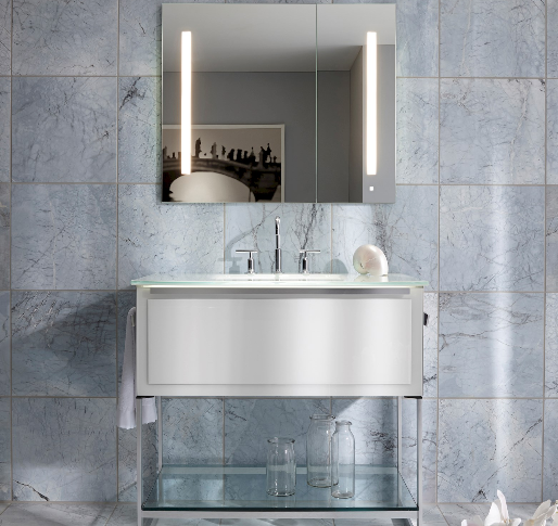 Elegant Robern Medicine Cabinet with Magnifying Mirror