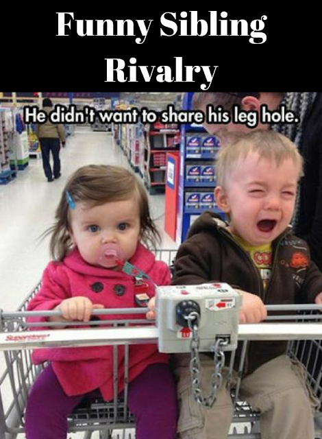 Funny Sibling Rivalry Siblings Funny Sibling Rivalry Funny Funny Pictures For Kids
