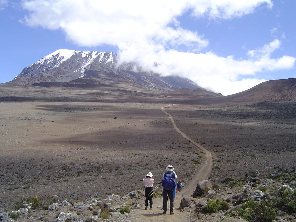 FF-Kili from End of Moor   AFRICA   Kili, Mountains, Mount