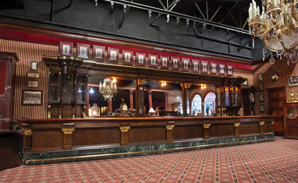 Vintage Saloon Back Bar Old Time Saloon Looks Antique