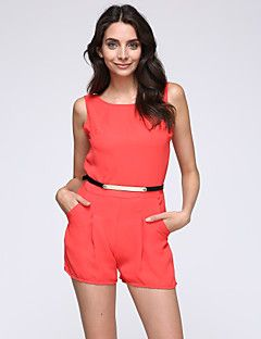 030c7160ac1f Women s Solid Blue   Red   Yellow Jumpsuits
