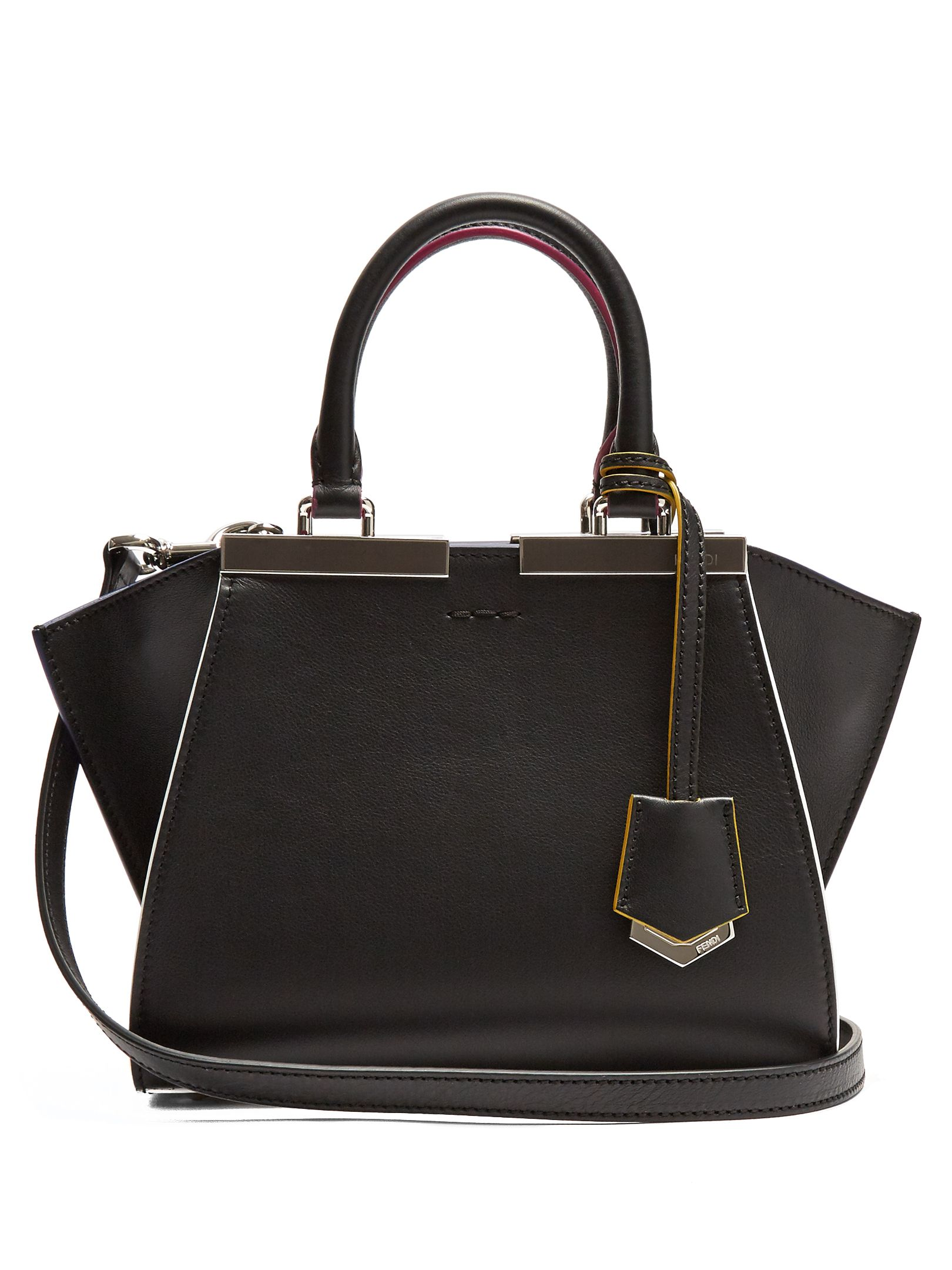 ebcb459cea Fendi 3Jours small leather cross-body bag