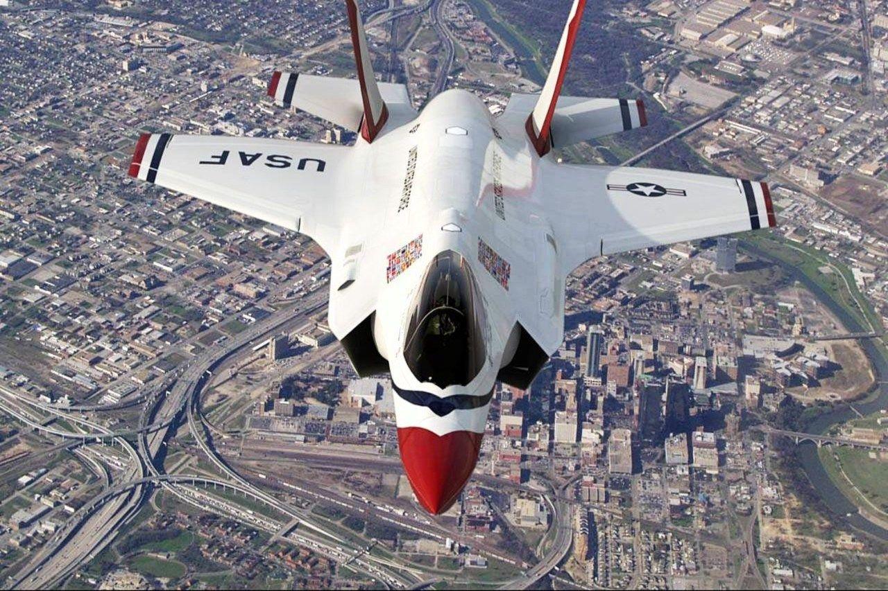 Обои F-35a, истребители, Thunderbird. Авиация foto 9
