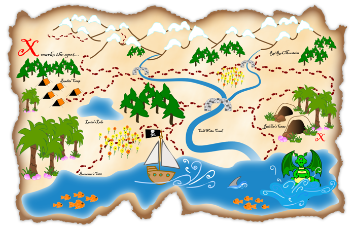 template of a treasure map google search diving deeper for