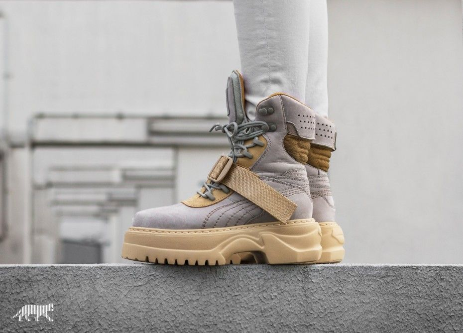 Puma Lace-Up Leather Winter Boots BDhVSSZ3M9