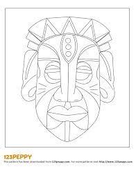 Resultado De Imagem Para Desenhos De Mascaras Africanas Facil