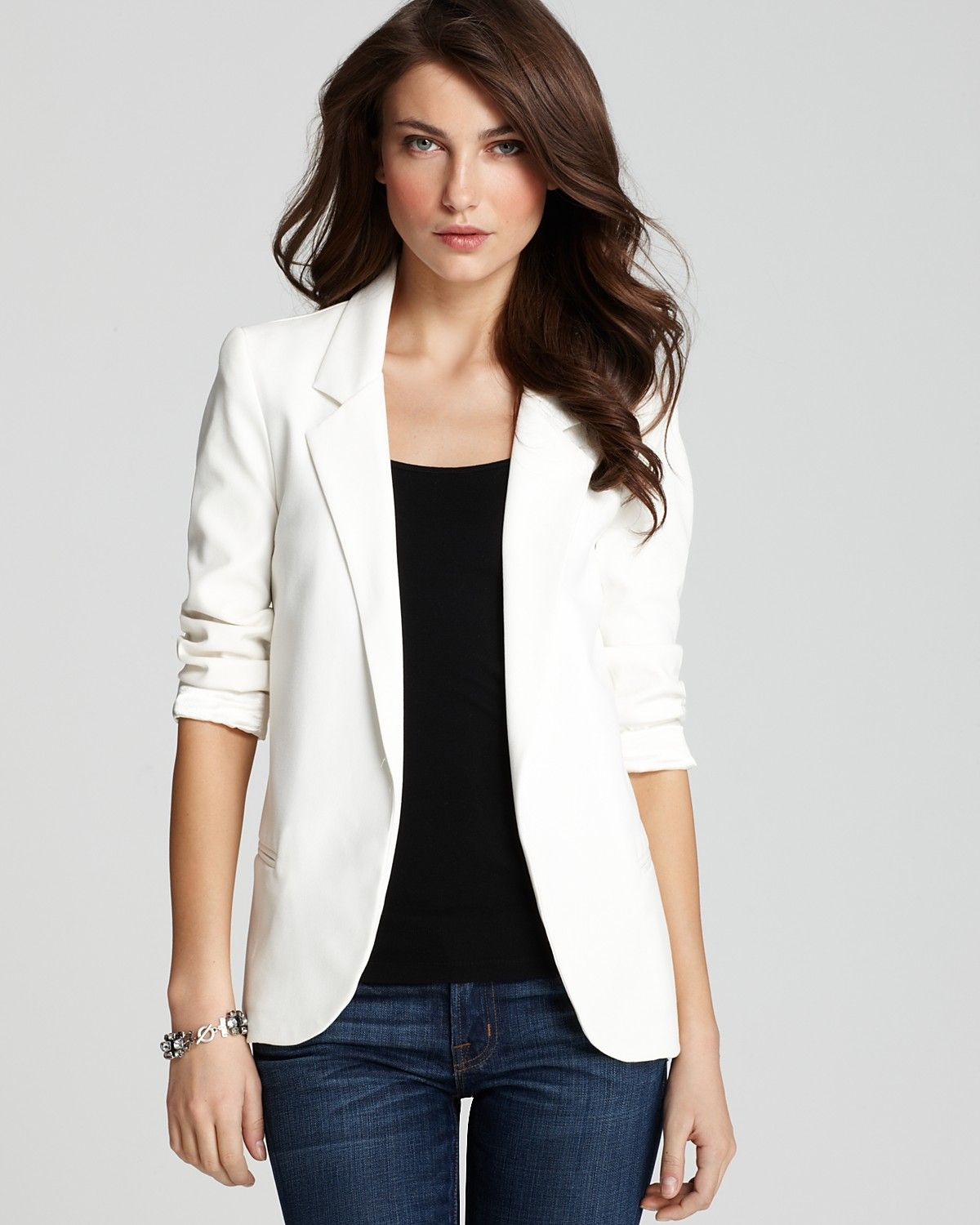 Fashion week How to white off wear blazer for woman