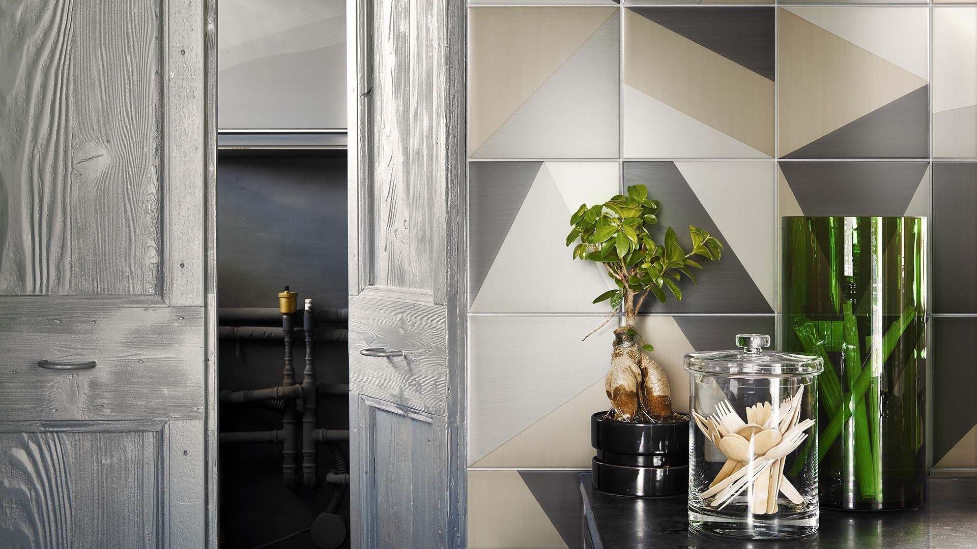 Tangram collezione di piastrelle da pavimento e rivestimento d