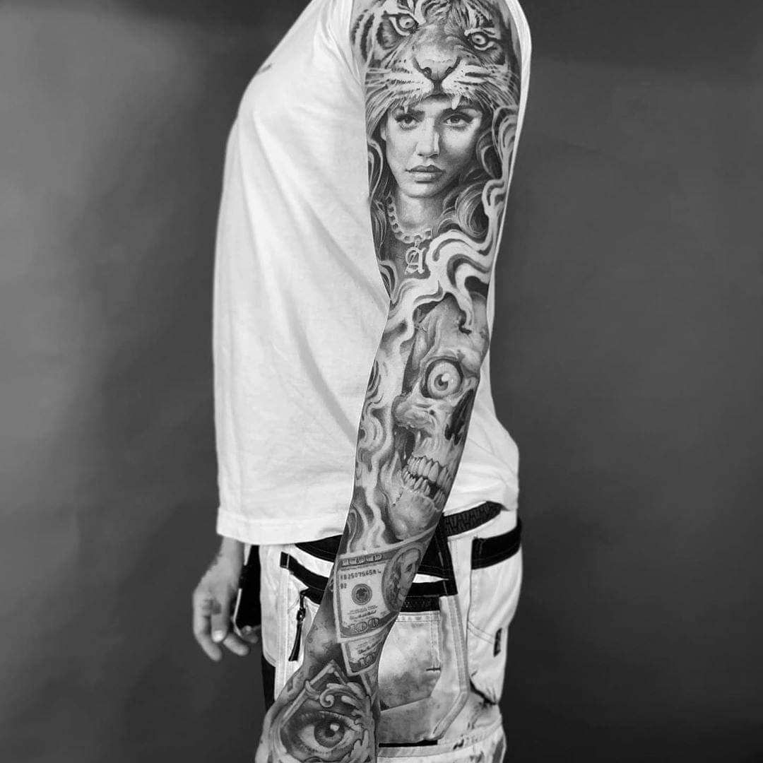 Artist: @andyblancotattoo . . . #tattooinked #tattooofinstagram #tattoounity #tatoodesign #thebesttattooartists #tatoostyle #tattoosociety #tattooaddict #neotraditionaltattoos #toptattooartist #tattooedpeople #tattooarm #superbtattoos #tattooinkspiration #tattoosp #tattoorealistic #tatooaddict #tattooworld #tattooartwork #tattooedcommunity #tatooink #tattooartists #inkedmagazine