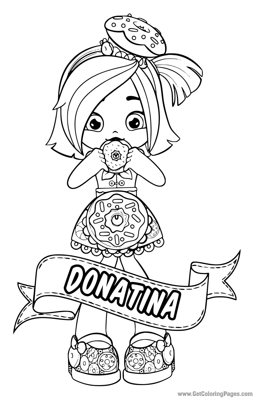 Shoppies Dolls Coloring Pages Printable Coloring Pages Shopkins Colouring Pages Shopkins Colouring Book