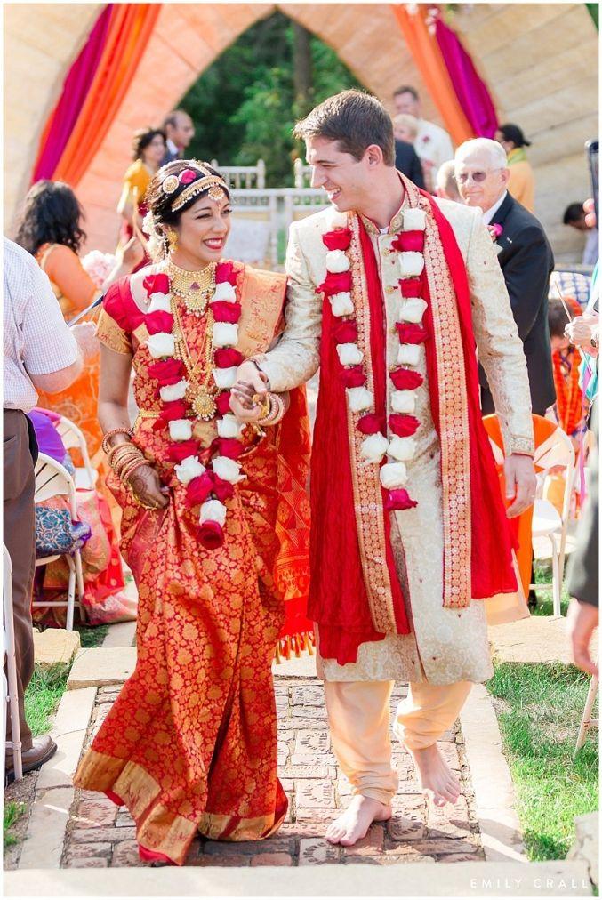 Celebration Farm Indian Wedding Melanie Dan Indian American Weddings Indian Wedding Indian Wedding Garland
