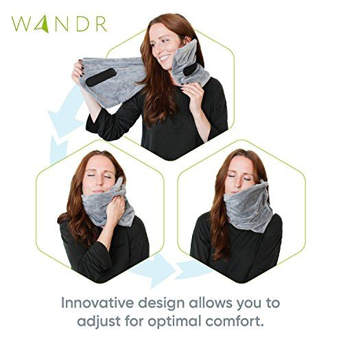 Wandr Travel Pillow With Free Eye Mask - Soft Neck Wrap Around Travel Pillow @ September 25 2019 at 04:58AM. #TravelDeals #TravelDealsCheap #TravelDealsBudget #AmazonTravel #AmazonTravelProducts #AmazonTravelMustHaves #AmazonTravelEssentials #goldbox #discount #deals #usa