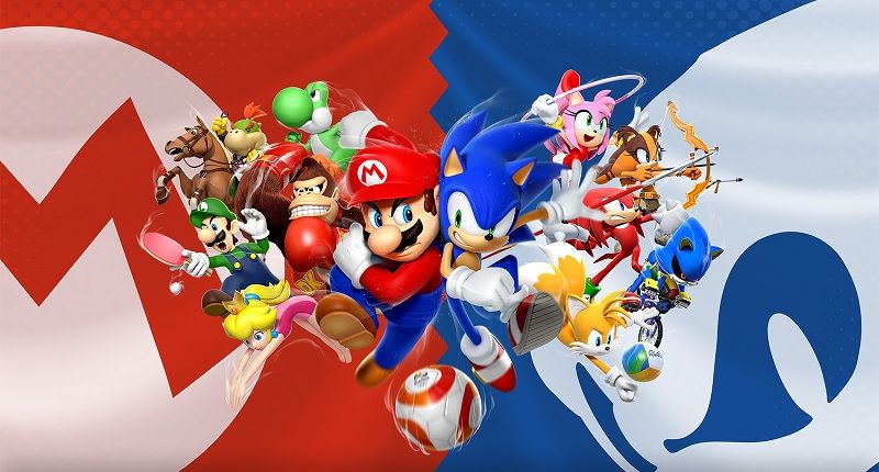Mario Sonic At The Rio 2016 Olympic Games For The Nintendo 3ds Sonic Mushroom Wallpaper Olympic Games