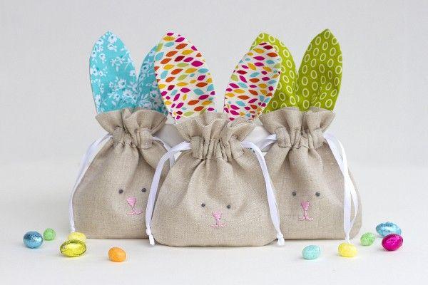 drawstring bunny bags n hen pinterest hase n hen. Black Bedroom Furniture Sets. Home Design Ideas