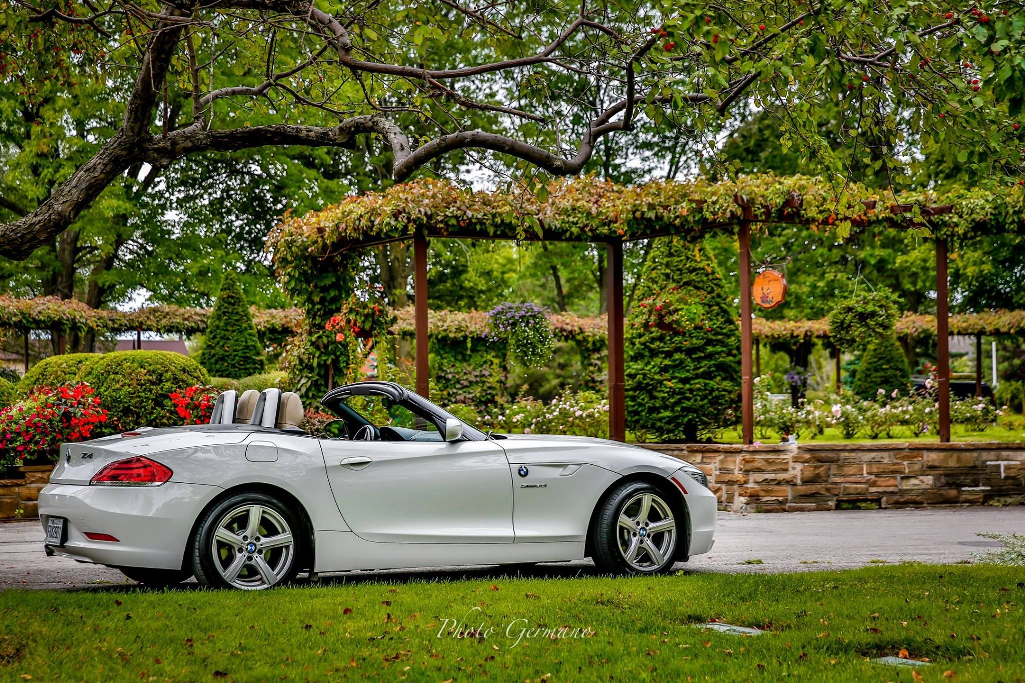 Photogermano Riding In This Beautiful Rental Bmw Z4 From