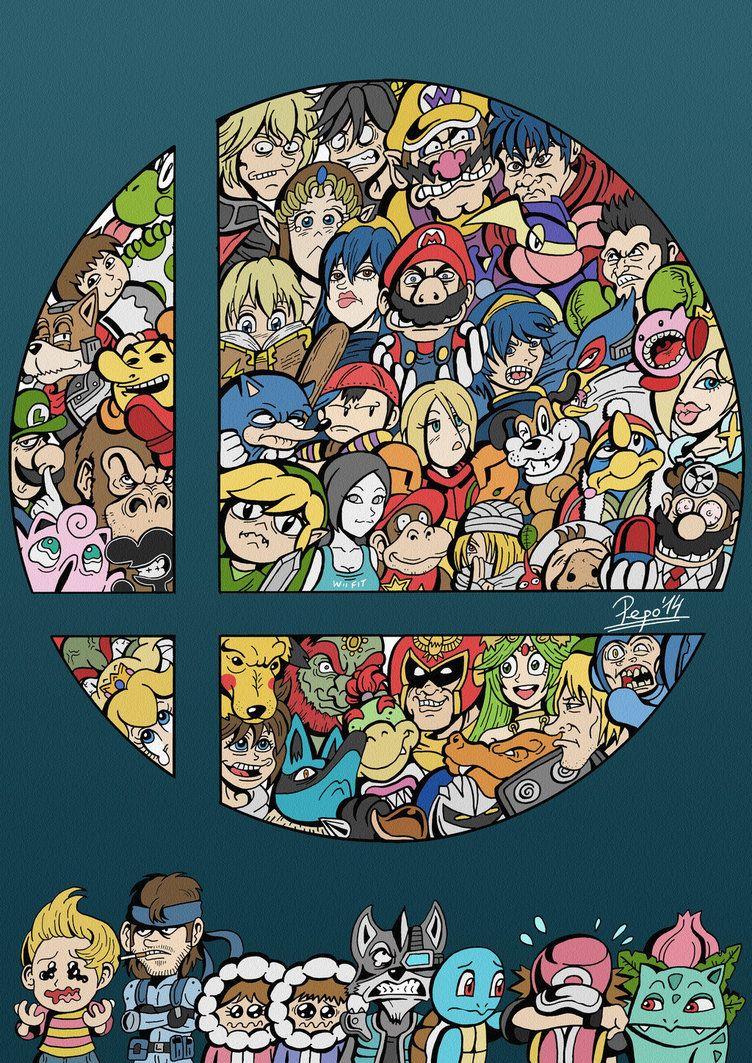 Super Smash Bros Wii U By Pepowned On Deviantart Med Bilder