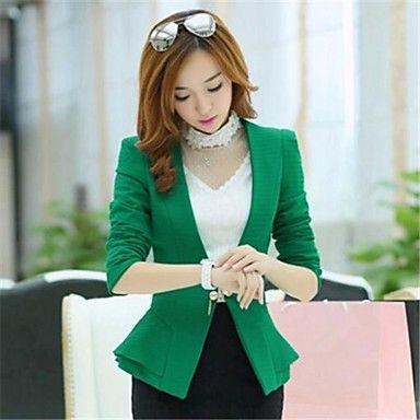 De+Mujeres+de+Nueva+Moda+delgado+Small+Suit+Blazer+–+USD+$+29.24