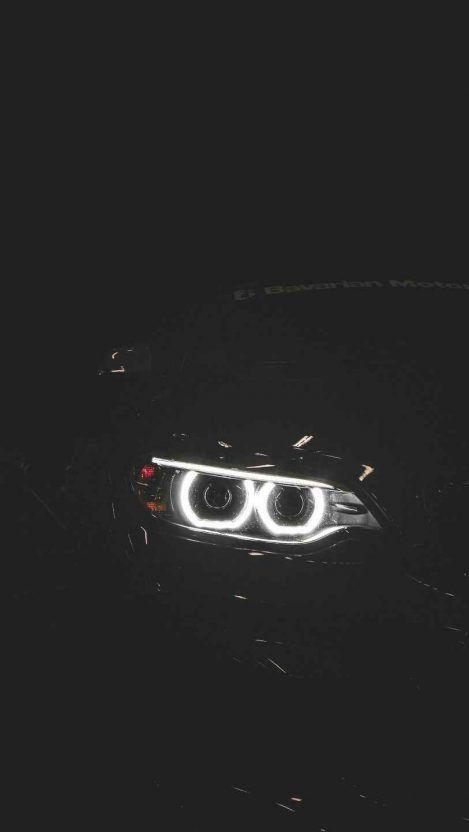 Bmw Night Lights Iphone Wallpaper Mit Bildern Auto