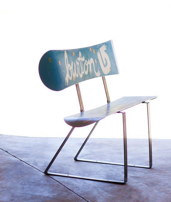 metal snowboard bench kit modern lifestyle furniture pinterest m bel einrichtung und b nke. Black Bedroom Furniture Sets. Home Design Ideas