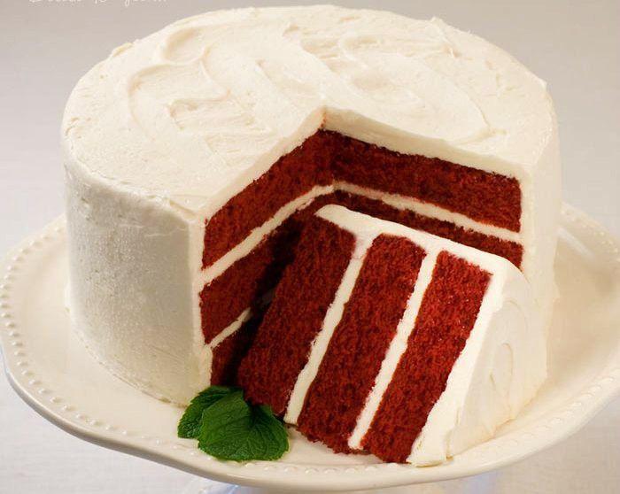 red velvet cake  my fav...yum