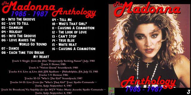 The Madonna Anthology [1979-2009] [16-Discs] - Guitars101 - Guitar