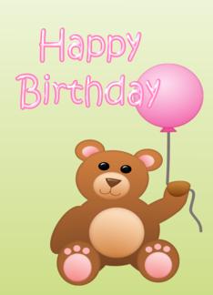 Happy Birthday Girl Greeting Card 3 00 Http Www