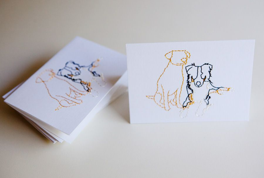 Custom thank you cards on dooce - I want to get some of these made ...