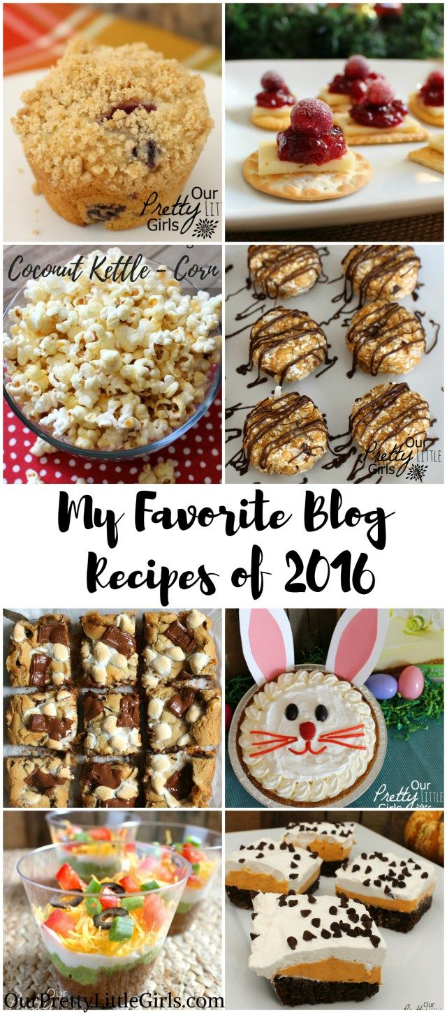 My best recipes of 2016 our pretty little girls blog the best of recipe forumfinder Gallery