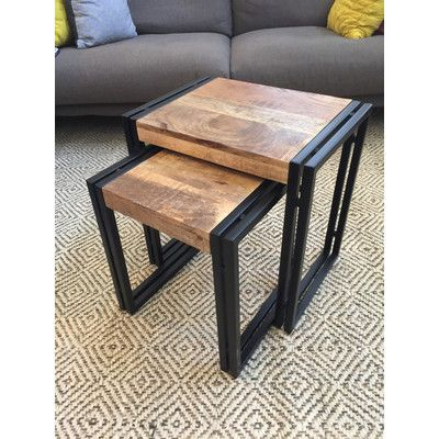 Timbergirl Hall 2 Piece Nesting Tables