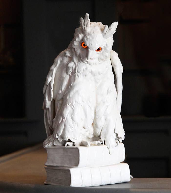 Blackman Cruz German owl lamp