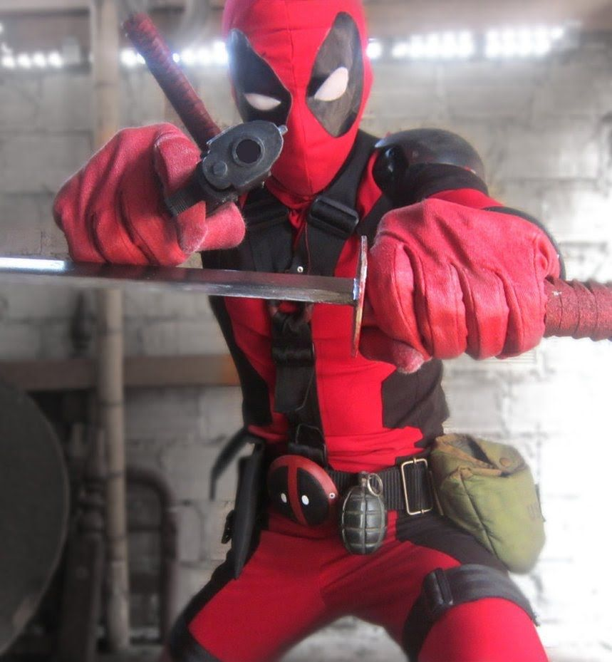 My Deadpool Costume Layout (Pt.1) | cosplay | Pinterest ...