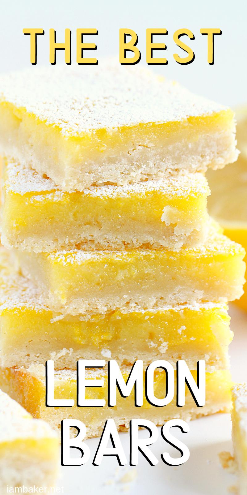 Perfect Lemon Bar Recipe