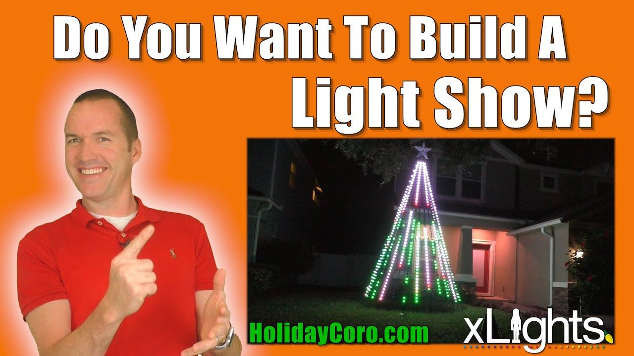 Holiday Light Shows 101 Leds Controllers Props And Sequencing For Beginners 5 Hour Megatree Youtube Holiday Lights Light Show Christmas Light Show