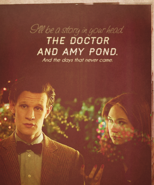 The Doctor and Amy Pond. And the days that never came.