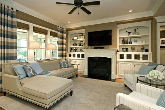 20 Gorgeous Living Rooms With Fireplaces Home Epiphany With