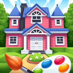 Gallery Coloring Book Decor V0 193 Mod Apk In 2020 Book Decor Coloring Books Different Art Styles