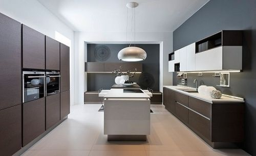 Awesome Matrix Art Kitchen by Nolte
