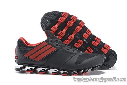 first rate b9187 111ae ... netherlands adidas springblade v running shoes black red vspringblade running  popular 4ec48 822d4