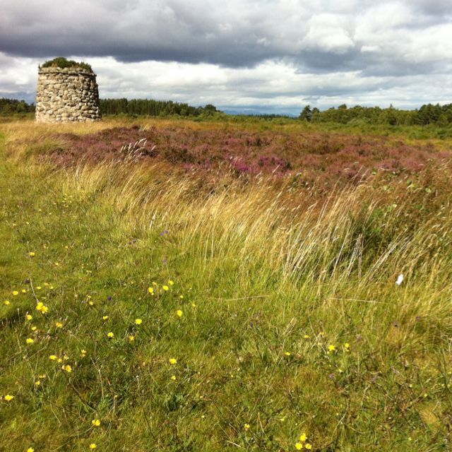 Culloden Battlefield. The saddest place I have ever visited. The very atmosphere of the site is heartbreaking...tragic. It was a very emotional experience.