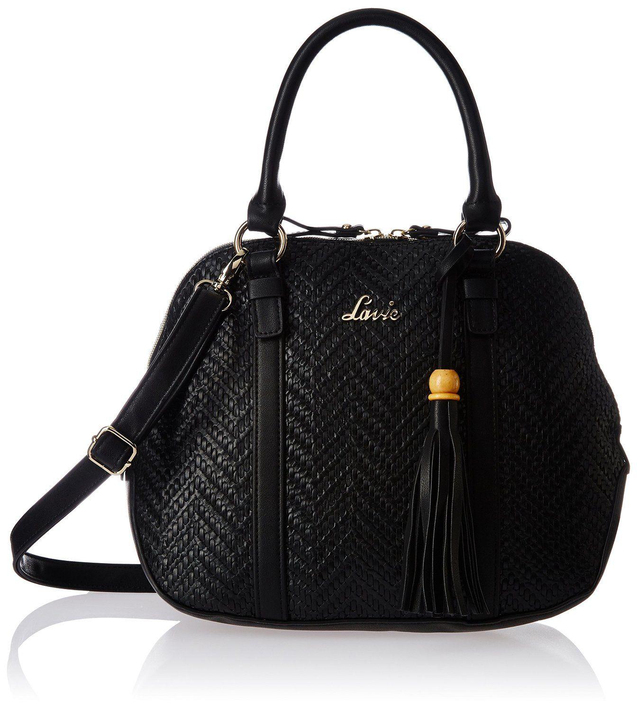 fc288fea09 Lavie Women s Slingbag (Black)(HGCS206019D3)  Amazon.in  Shoes   Handbags