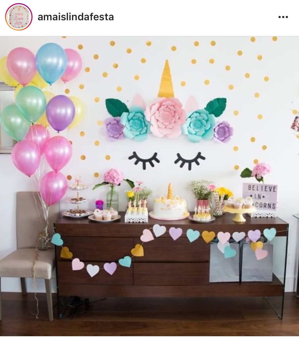 Unicornio fiesta unicornio pinterest unicornio for Diy decoracion cumpleanos