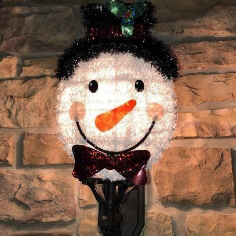 Diy Snowman Porch Light Cover Dollar Tree Porch Light Covers Diy Snowman Light Covers