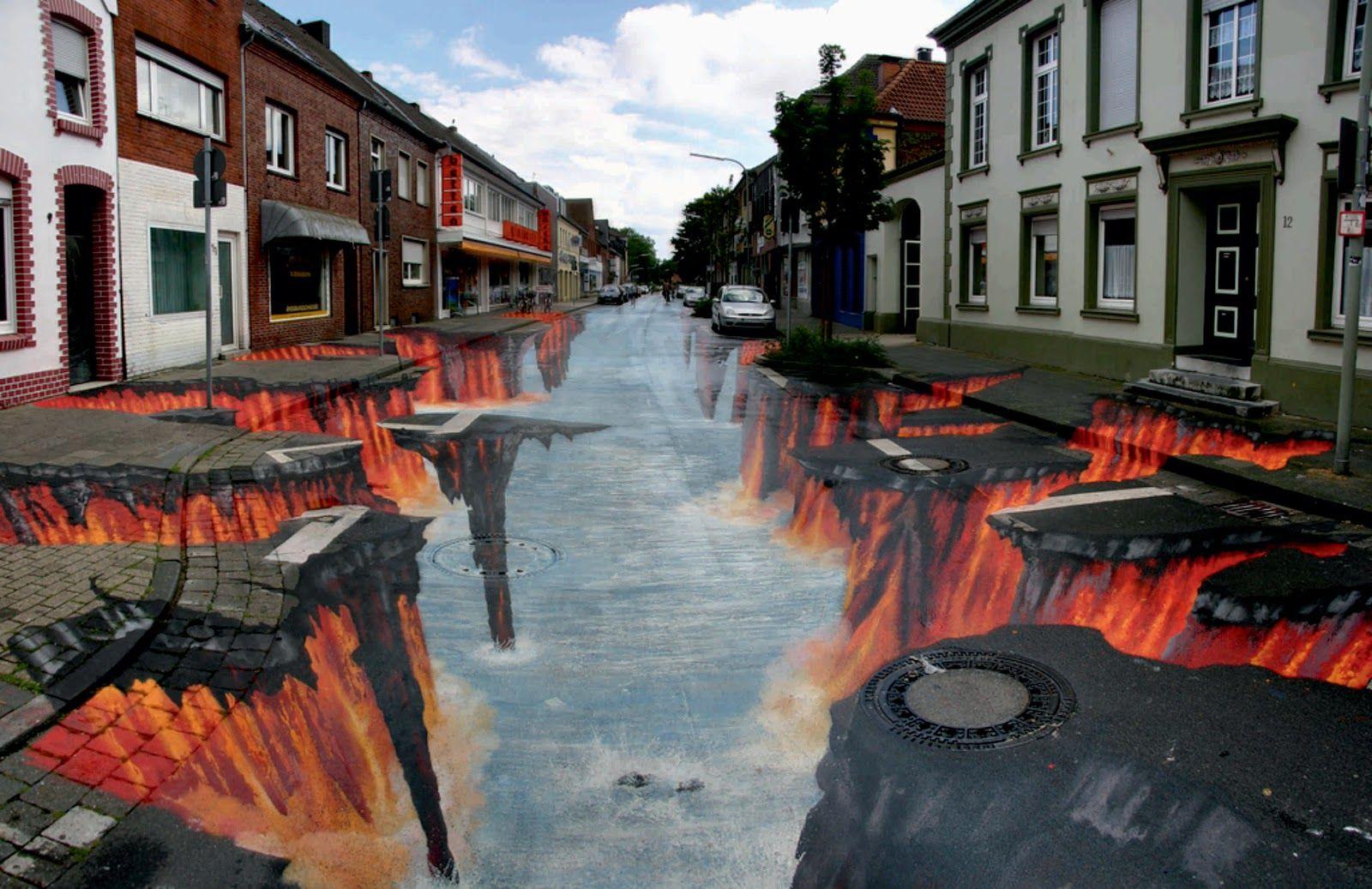 17 Best images about 3D Street Art on Pinterest | Edgar mueller ...