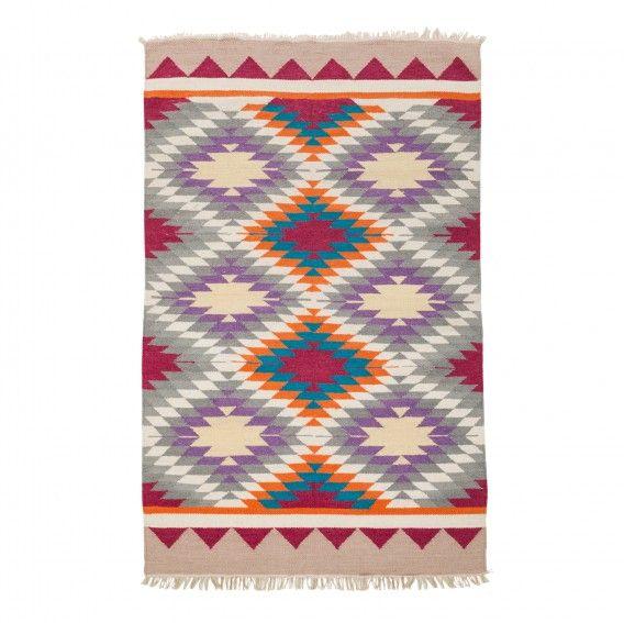 teppich-merida-pink-lila-beige-160-x-230-cm-3630017jpg (568×567 - wohnzimmer deko lila