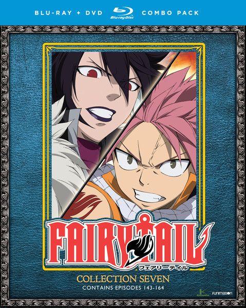 Fairy Tail Collection 7 Blu-ray/DVD | Birthday/ Xmas Wishlist board