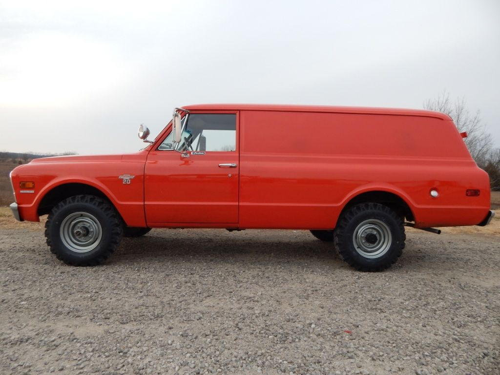 1968 Chevrolet Panel Truck 02 The Toy Shed Trucks Panel Truck