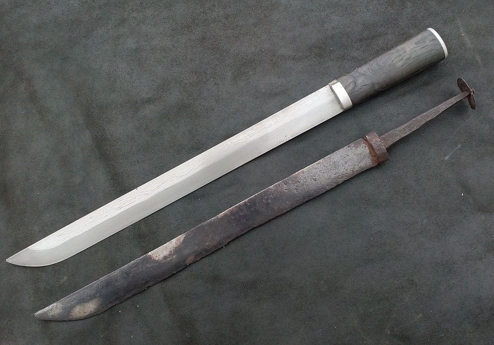 The Russian scramasax Show and Tell Viking sword